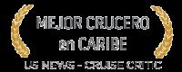 Premio Mejor crucero en Caribe por US NEWS
