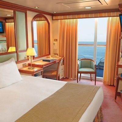 Cabina con balcón - Coral Princess