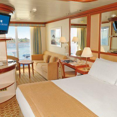 Cabina MiniSuite con balcón - Coral Princess