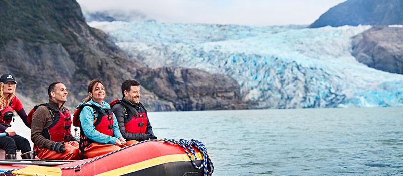 Expertos a bordo de cruceros en Patagonia