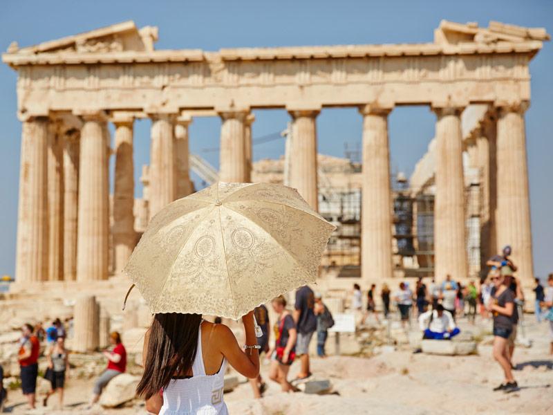 Chicas de Viaje - Atenas a Barcelona