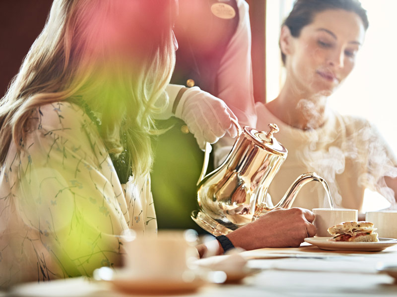 Hora del té en Princess